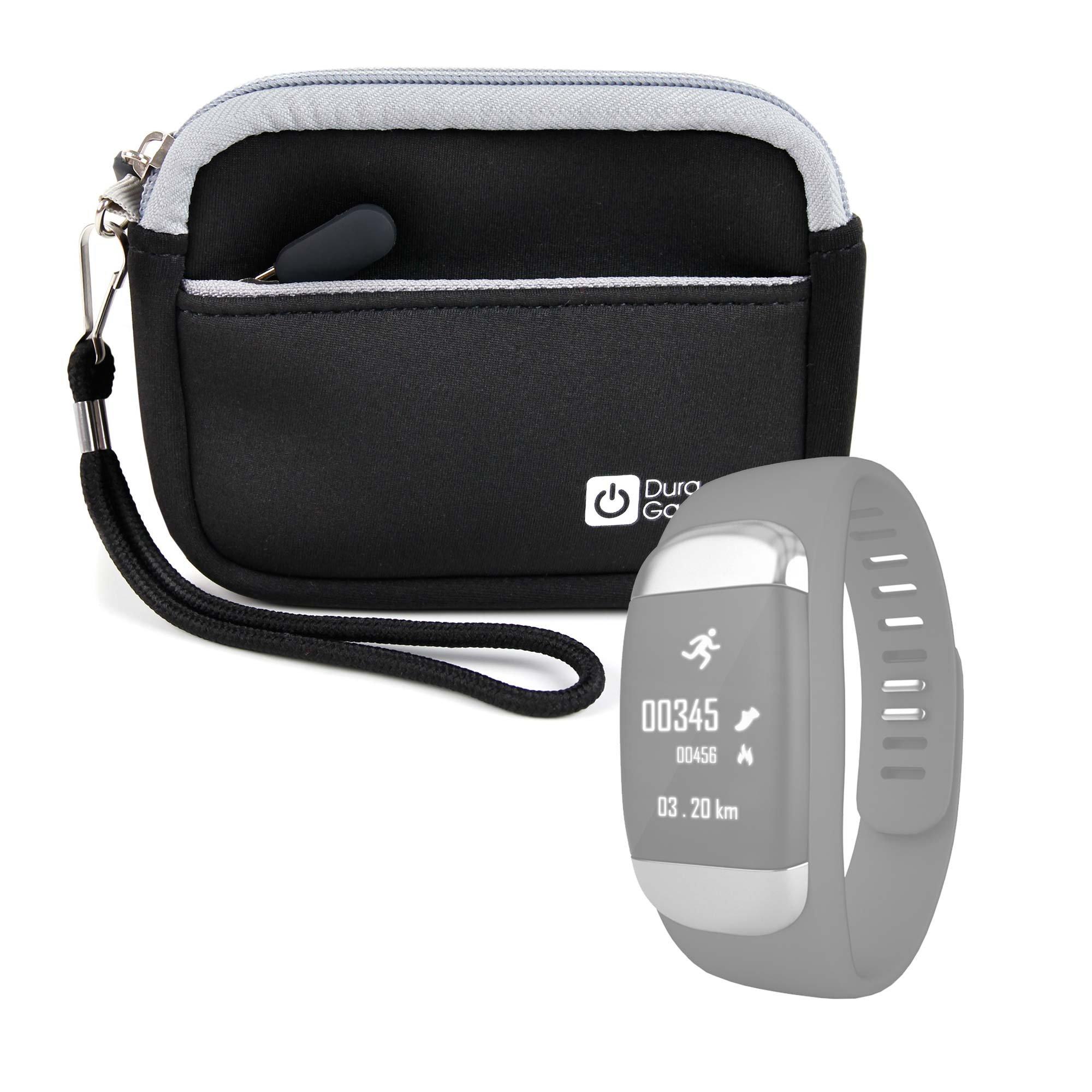 DURAGADGET Estuche De Neopreno Negro para My Buddy Tag Wearable, Stifit Smart Fitness Tracker, Ammiy BF-888S + Correa Guardar Su Dispositivo!: Amazon.es: Electrónica