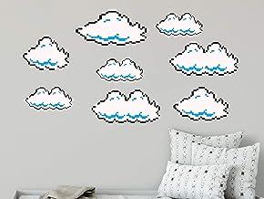 Calcomanías de pared con diseño de nubes de Super Mario Clouds R114