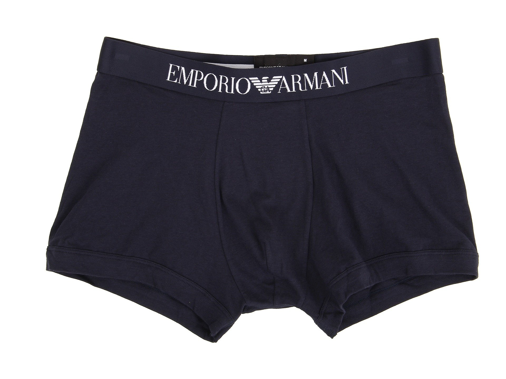 Brief Emporio Cotton Armani Boxer Stretch Navy 66qa7IT
