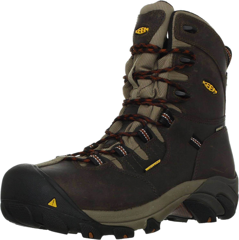 KEEN Utility Men's Detroit 8  Steel Toe Work Boot