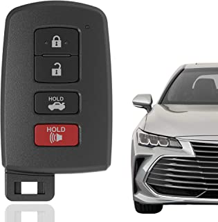KRSCT 4-Buttons Keyless Entry Remote Key Fob Entry Replacement Fits for Toyota Avalon 2013-2020, Camry 2012-2017, Corolla 2014-2019 (FCC ID: HYQ14FBA, RSK-TOY-00204)