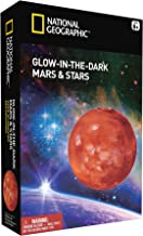 National Geographic Plastic Glow in The Dark Mars and Stars
