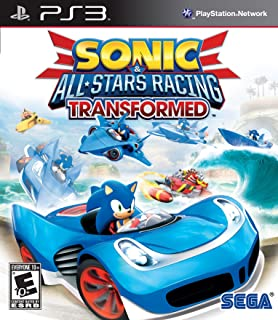 SEGA Sonic & All-Stars Racing Transformed - Juego (PlayStation 3, Aventura, E10 + (Everyone 10 +))