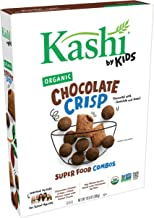Kashi by Kids Cocoa Crisp Cereal - Organic Vegan Kids Cereal, Fair Trade Cocoa, 10.8 Oz Box (Pack of 10)