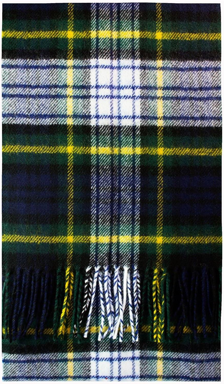 Gordon Dress Modern Tartan Luxury Brushwool Scarf