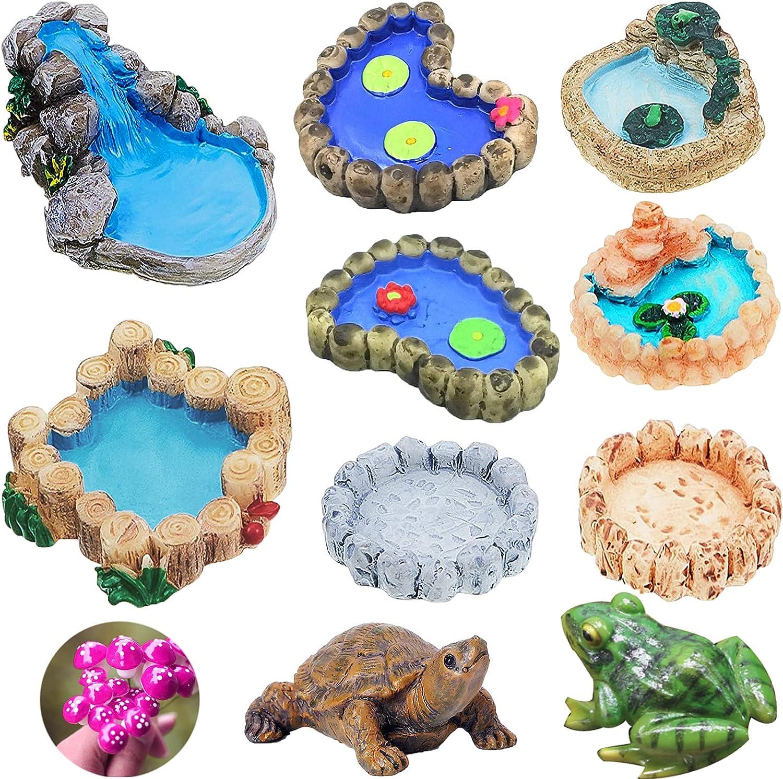 Miniature Pond Superior Ornaments Garden Accessories Accessorie Cheap SALE Start