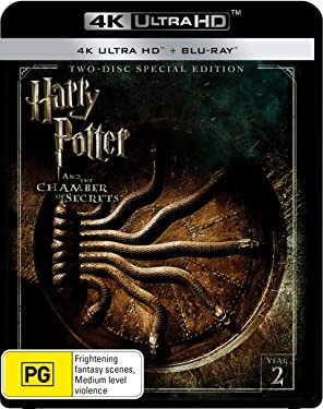 Harry Potter and Chamber of Secrets 4K UHD Blu-ray / Blu-ray | NON-USA Format | Region B Import - Australia
