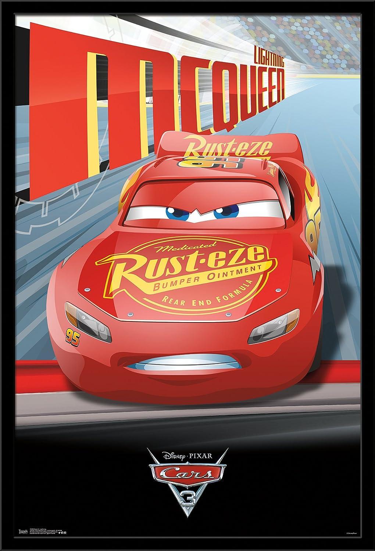 Trends International Wall Poster Disney Cars 3 Lightning McQueen 22.375 x 34