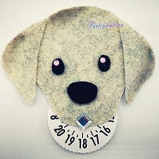 Disco orario cane Labrador - idea regalo uomo donna