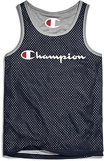 قميص رجالي بدون أكمام شبكي قابل للعكس من Champion