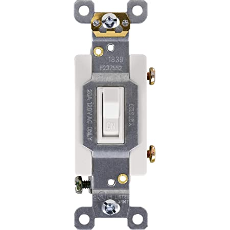 Hubbell CS320W Commercial Grade White 3-Way Switch 20A 120//277V Lot of 10 NEW