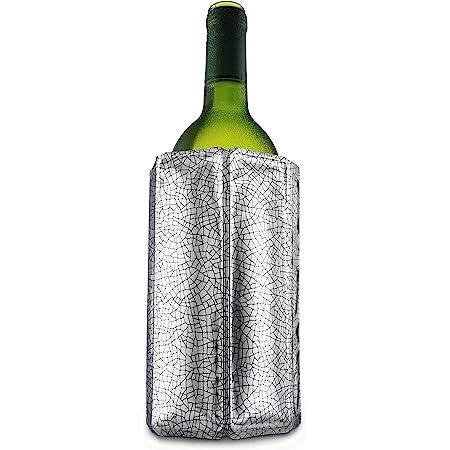 Vacu-vin 8714793388031 Active Cooler Wine Silver, Chrome