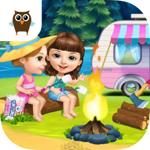 Sweet Baby Girl Summer Camp - Kids Camping Club