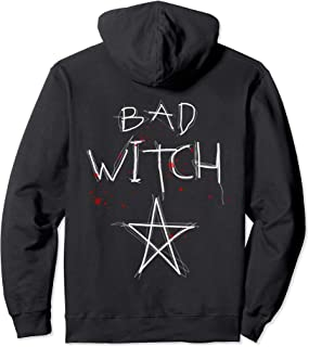 Bad Witch Blood Splatter Bewitched Pullover Hoodie