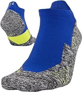 Under Armour Unisex-Adult Under armour Adult Run Cushion no Show Socks with tab, 1 Pair U053-P