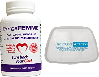 Biosource Nutrition Pocket Pill Pack in Bundle with BergaMetNA BergaFEMME 60 Tablets