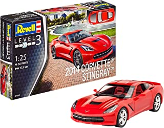 Revell Revell-2014 Maqueta 2014 Corvette Stingray, Kit Modelo, Escala 1:25 (07060), 17,9 cm de Largo