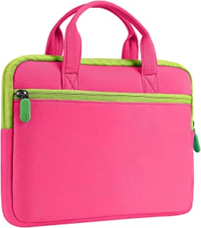 Vankyo 7 inch Tablet Sleeve Bag, Fits with MatrixPad Z1 Kids Tablet, iPad Mini 4 3 2 1, Galaxy Tab A 8.0 and Dragon Touch Y88X Plus/Y88X/M7 Kids Tablet, Pink
