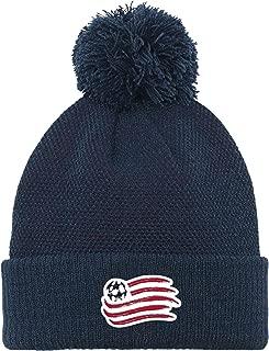 MLS Boys' Cuffed Knit Hat with Pom