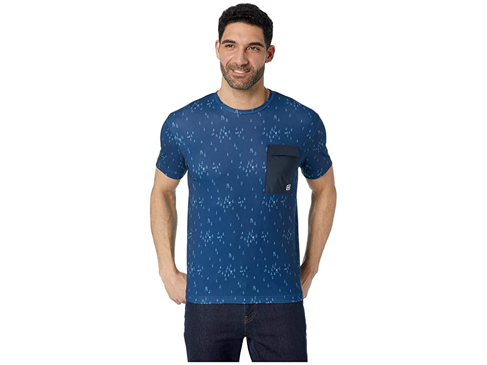 Helly Hansen Lomma T-Shirt (Catalina Blue Print) Men