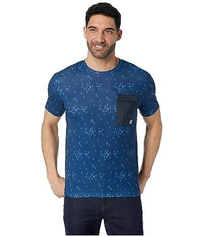 Helly Hansen Lomma T-Shirt (Catalina Blue Print) Men