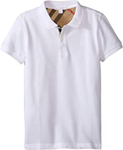 ee779364a2af Burberry kids mini pique polo shirt little kids big kids