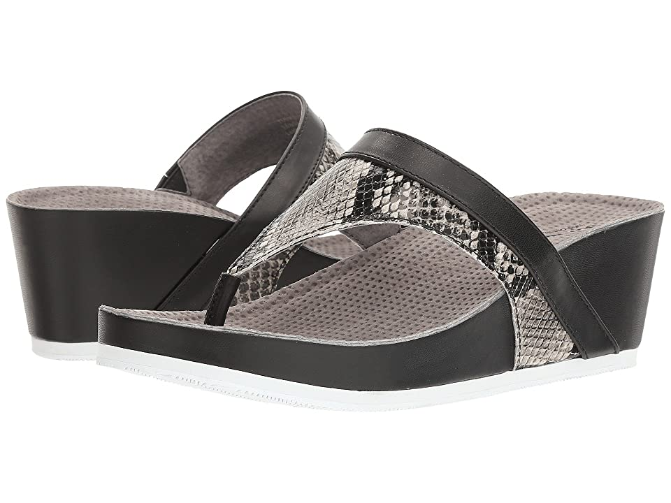 SoftWalk Heights (Black/White Snake) Women