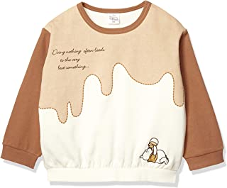 Disney 迪士尼 小熊 袖子配色 运动衫 男孩 女孩 332223017