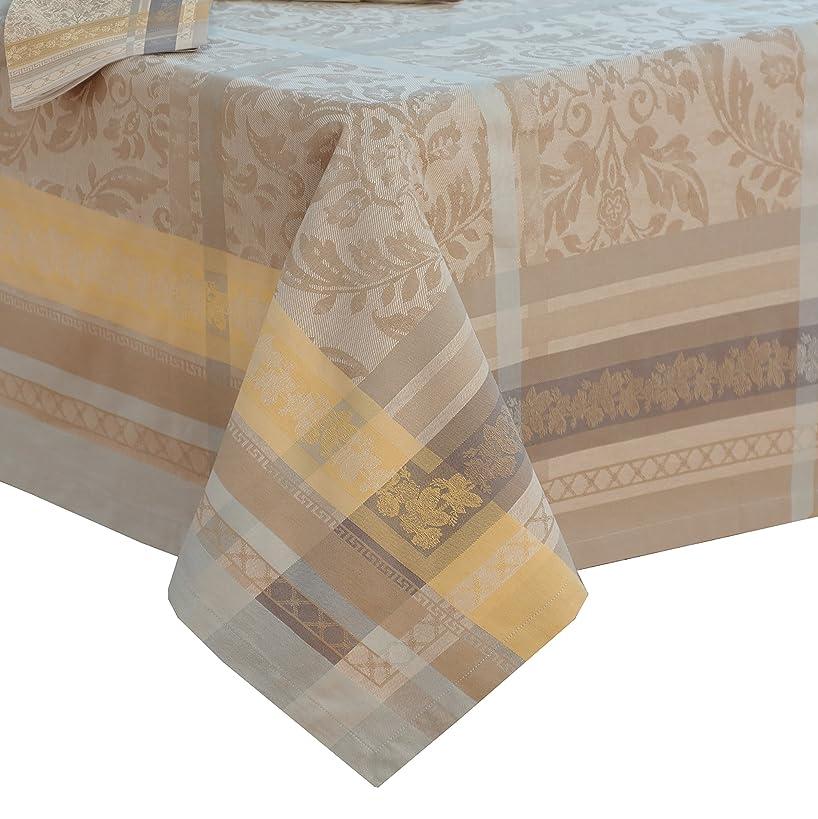 Villeroy and Boch Promenade Jacquard Fabric Tablecloth, 63