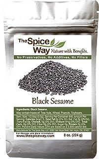 The Spice Way Black Sesame Seeds - 8 oz