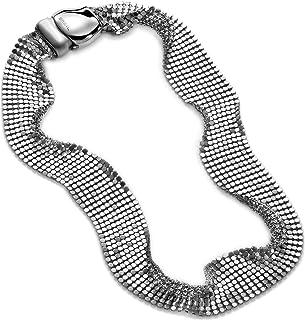 BREIL Collana Donna collezione STEEL SILK