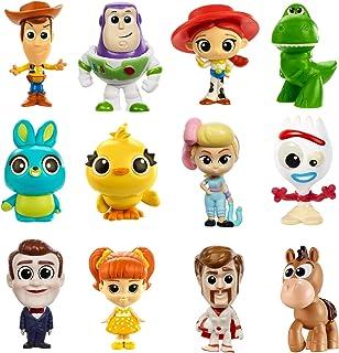 شخصيات Disney Pixar Toy Story 4 صغيرة الحجم مخصصة للجمع ولإعادة إحياء الفيلم في المنزل وأثناء التنقل GHL54