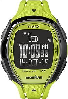 Timex Ironman Sleek 150 Lap | Tapscreen Hydration Alerts | Sport Watch TW5M00400