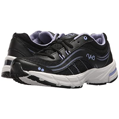 Ryka Impulse (Black/Iron Grey/Amethyst) Women