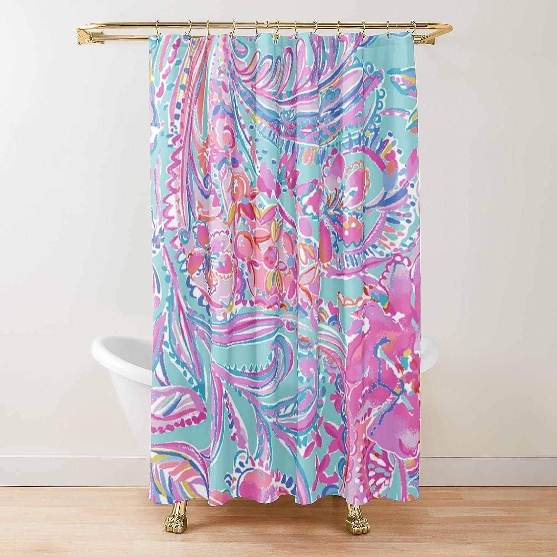 Design Fabric Shower Curtains Bathroom Overseas parallel import regular item Very popular Printed Customize Curtai
