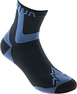 Ultra Running Socks - Calcetines de running (talla XL), color negro