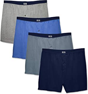 Men's 4 Pack Extended Size Boxers
