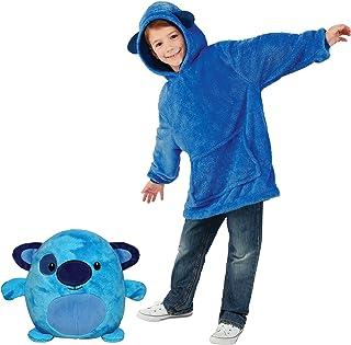YONOS Huggle Pets Sweat à Capuche Animal en Peluche, Sweat à Capuche pour Enfant, Peignoir, Pyjamas pour Enfants