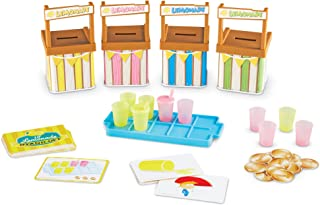 Learning Resources Lil' Lemonade Stand-Off a Memory Matching Game, 66 Pieces,Multi-color,