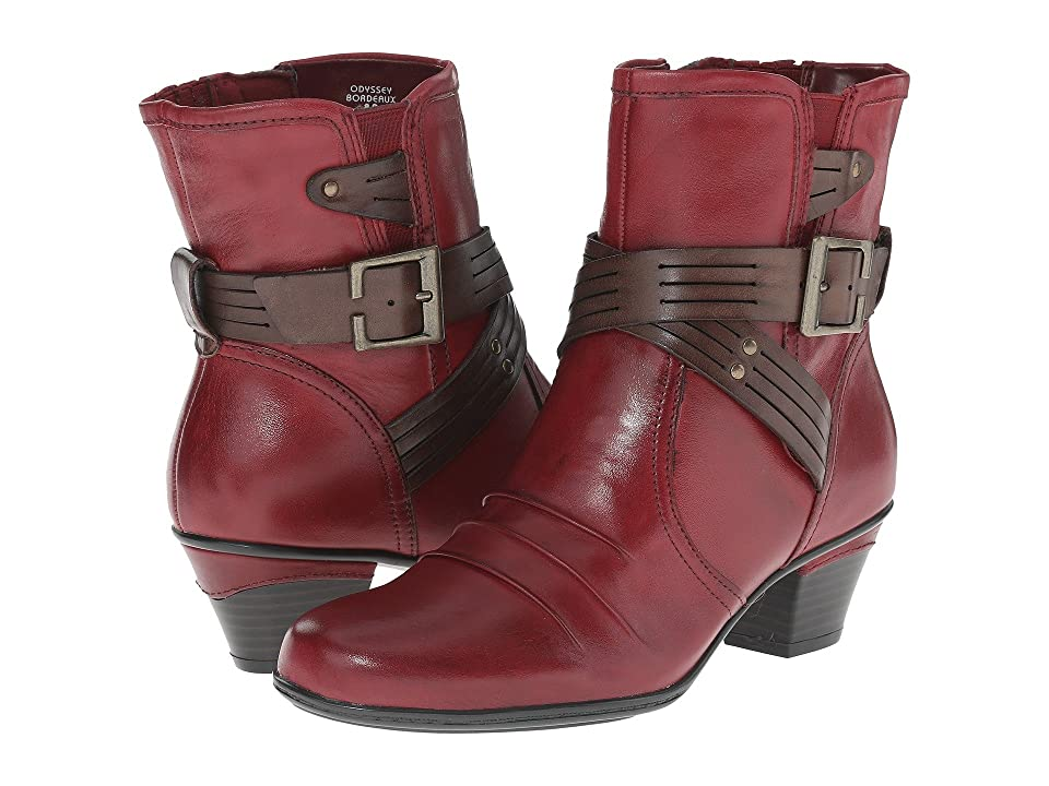Earth Odyssey (Bordeaux Calf Leather) Women