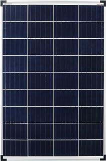 enjoysolar - Panel solar (100 W, 100 W, ideal para caravanas, casas de jardín, barcos, etc.)