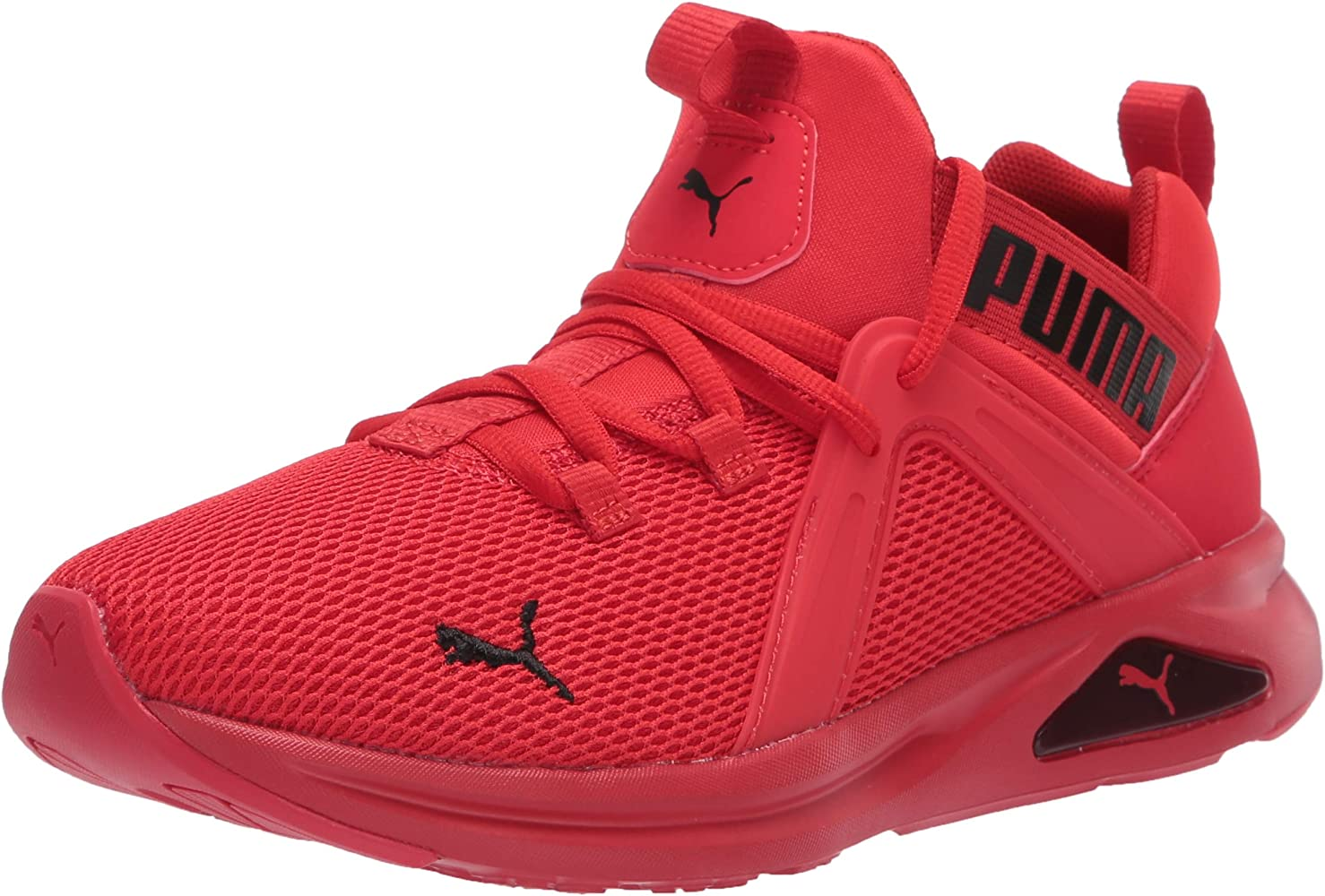 Amazon.com | PUMA Unisex-Kid's Enzo 2 Weave Sneaker, high Risk red ...