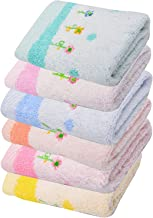 SHOPCASH Cotton Soft Baby Face Towel (Multicolour) - Pack of 6