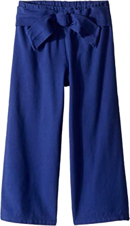 Bow Wide Leg Knit Pants (Toddler/Little Kids/Big Kids)