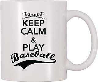 4 All Times Keep Calm And Play Baseball Mug (11 oz)