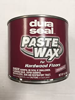 Dura Seal Wood Paste Wax - Neutral - 1 Lb Can