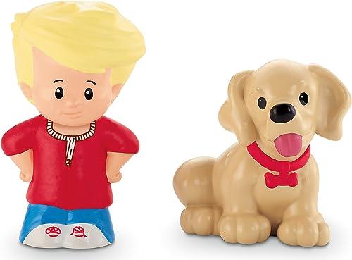 Fisher Price Little People Spielfiguren u. Tiere - Eddie & Hündchen