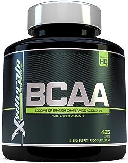 BCAA Comprimido 1000 mg | 425 Comprimidos | 3000 mg Dosis Diaria | Suministro para 141 Días | 2:1:1 Aminoácidos