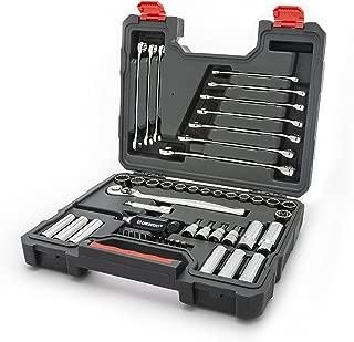 Crescent 51 Piece Mechanics Tool Set, SAE & Metric - CTK51