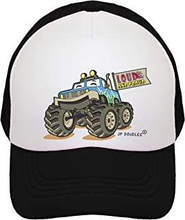 Monster Truck Hat Kids Trucker Hat. Baseball Mesh Back Cap fits Baby, Toddler and Youth